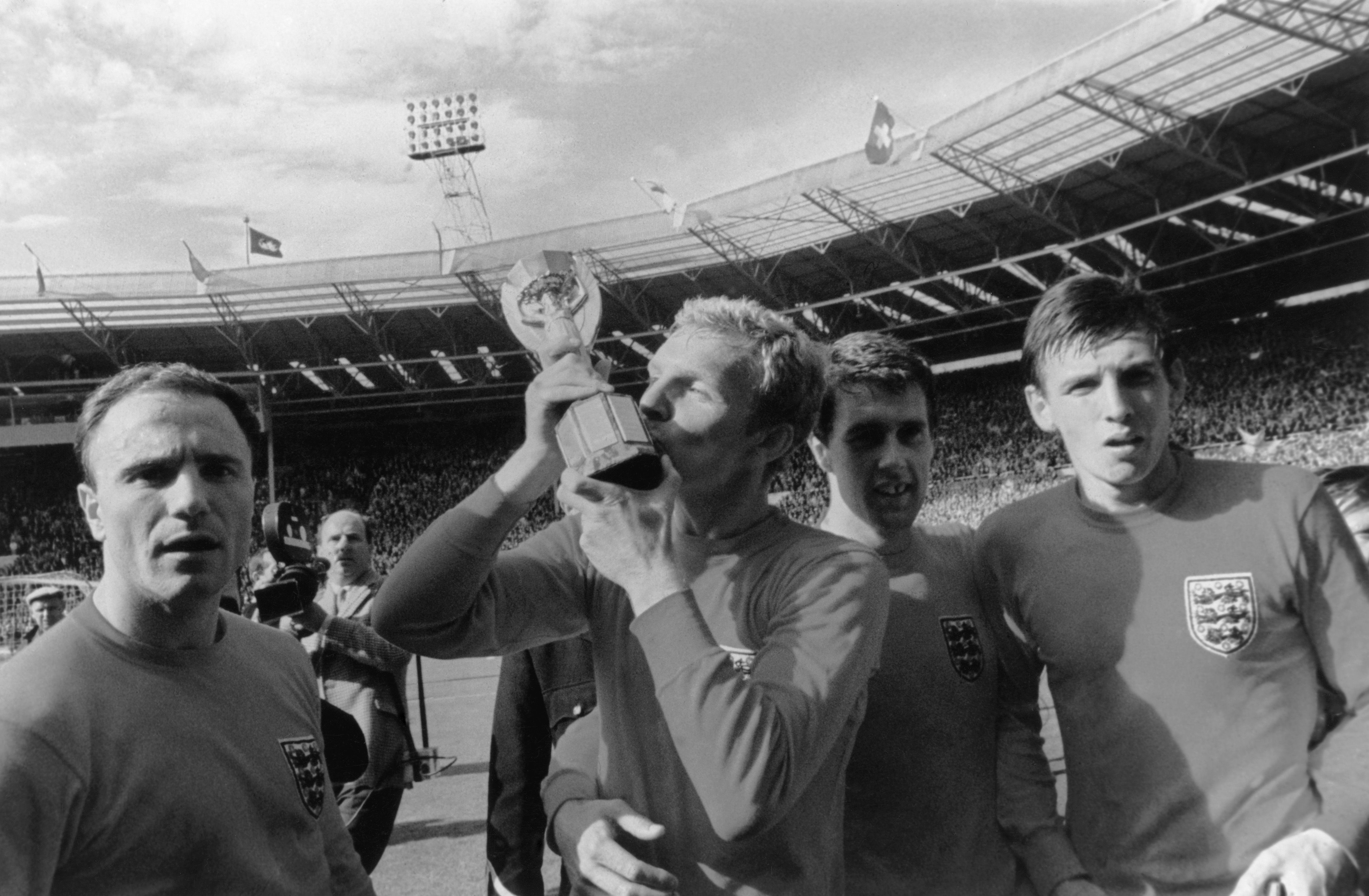 In pictures: England's 1966 football World Cup 4–2 win over West Germany, the team, the fans and the final at Wembley stadium on 30 July - History Extra