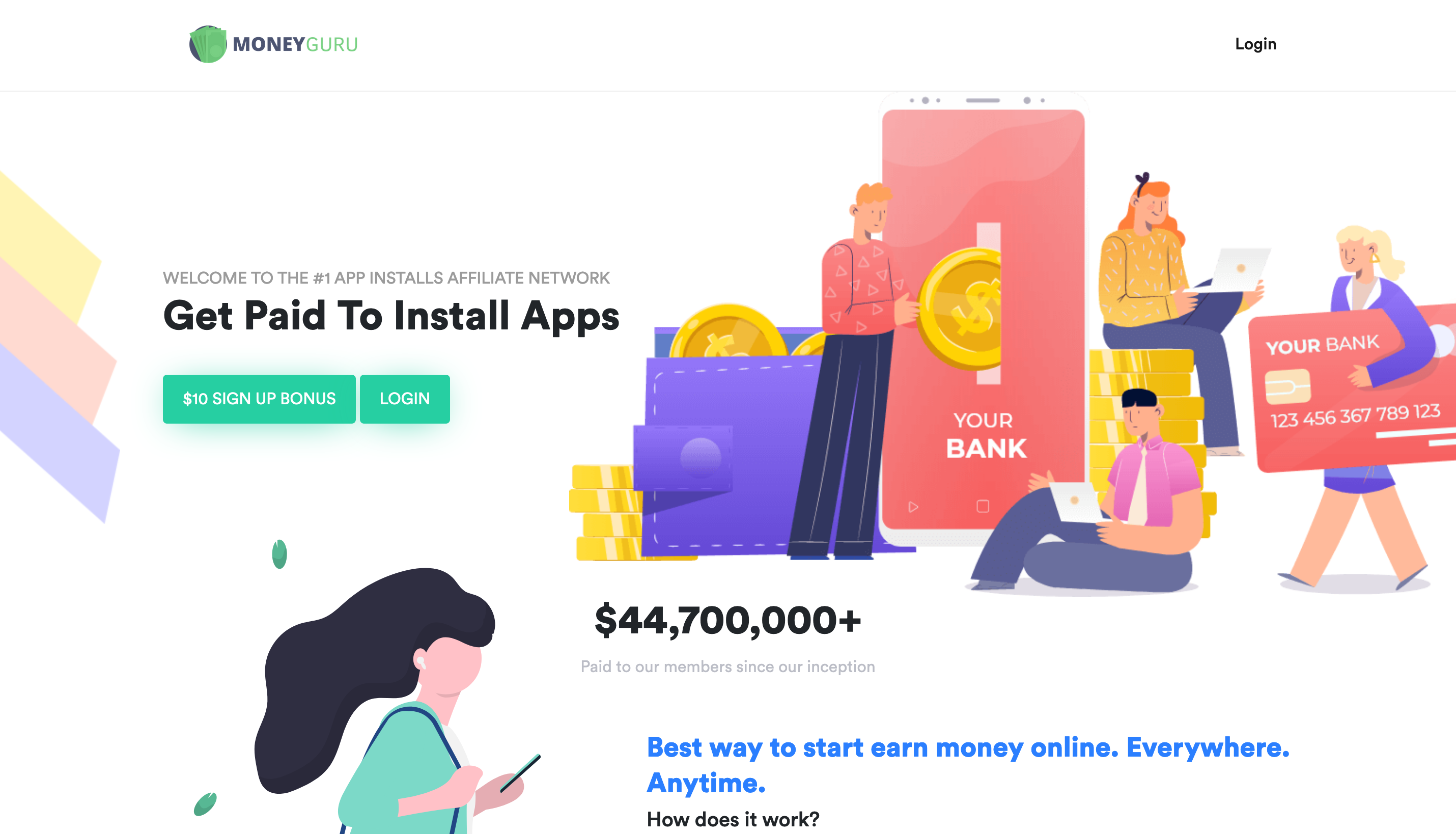 MoneyGuru - #1 INFLUENCER NETWORK