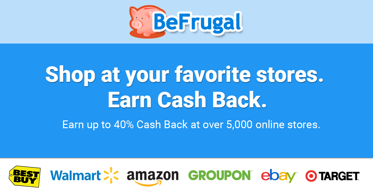 BeFrugal - The #1 Site for Cash Back & Coupons